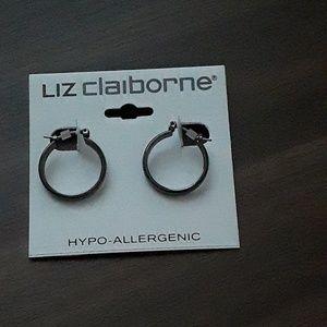 Brand new Liz Claiborne 1 Pair Hoop Earrings